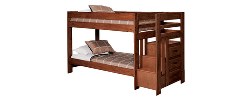 Twin/Twin Bunkbed Stairstep