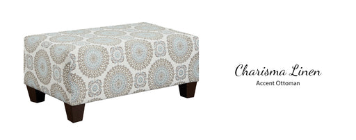 Charisma Ottoman by Affordable Furniture