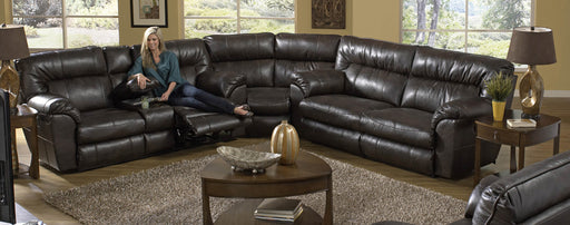 Nolan Godiva Reclining Sectional by Jackson Catnapper