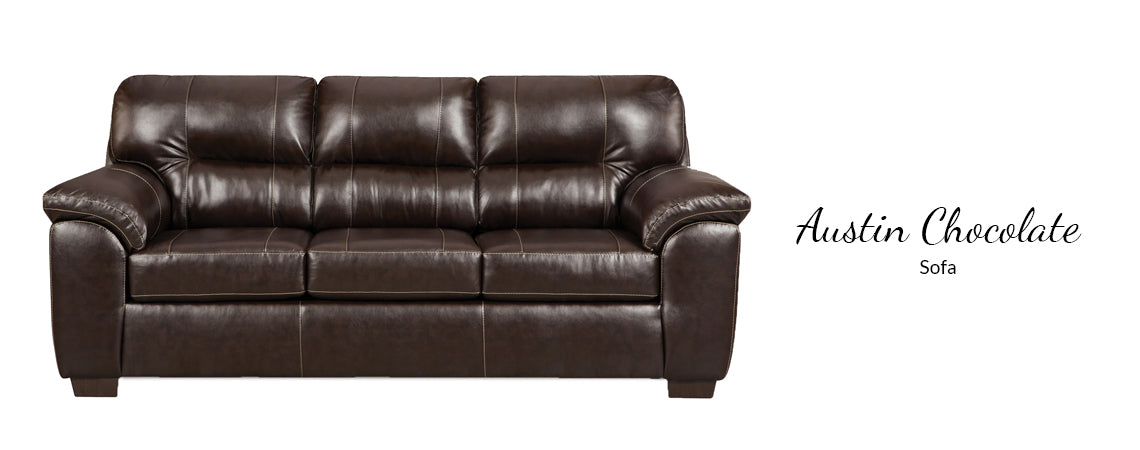 Austin Chocolate Sofa by Affordable Furniture