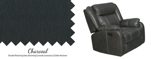 Gin Rummy Pad-Over-Chaise Glider Recliner