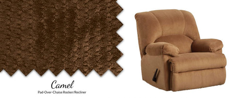 Feel Good Pad-Over Chaise Rocker Recliner