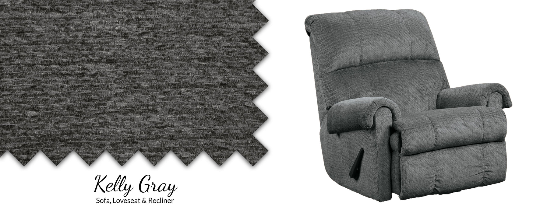 Kelly Pad-Over Chaise Rocker Recliner