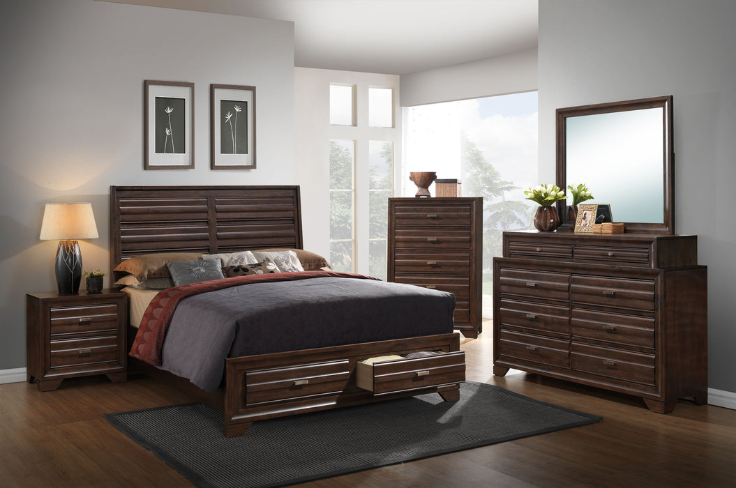 Antique Walnut Bedroom Set