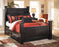 Shay Black Poster Bed (w/Underbed Storage) by Ashley Signature