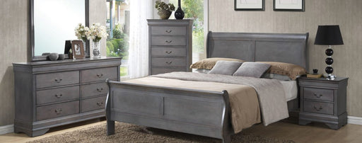 Grey Louise Philippe Bedroom Collection (3 Piece)