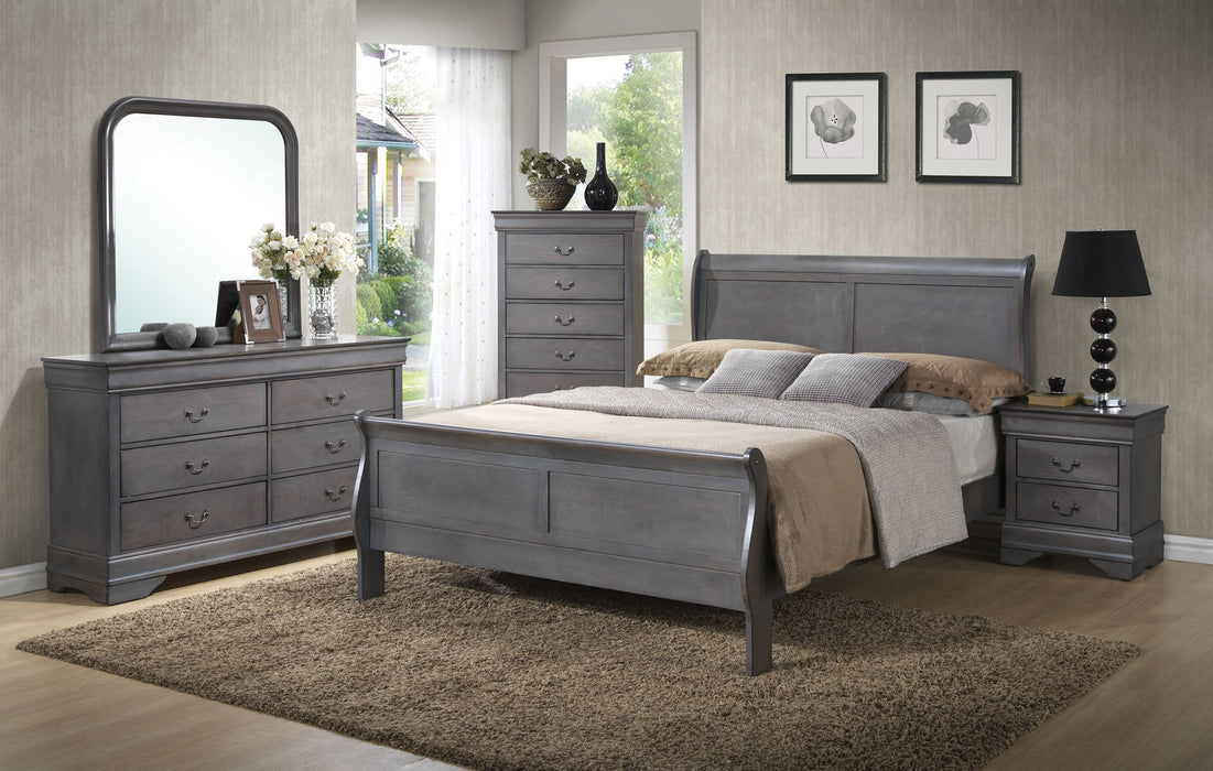 Grey Louise Philippe Chest
