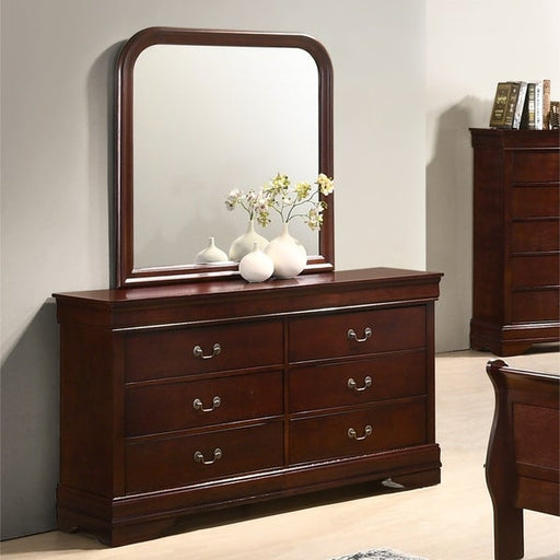 Louise Philippe Dresser and Mirror