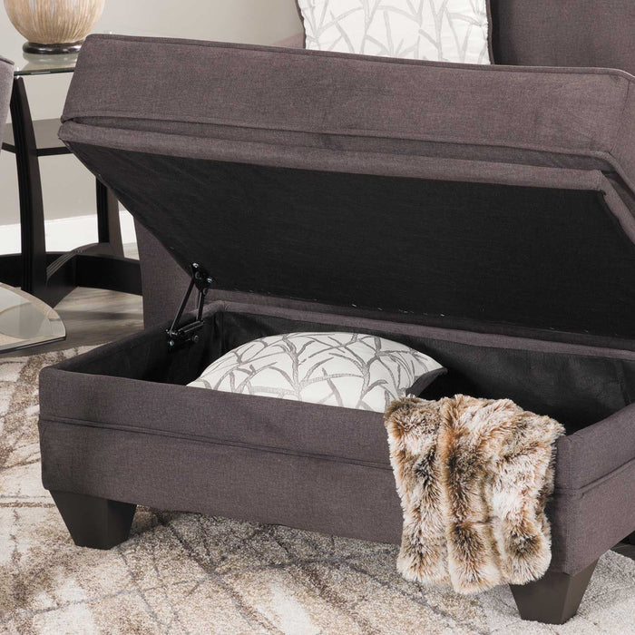 Remarkable Flannel Seal Ottoman Ncnpc Chair Design For Home Ncnpcorg