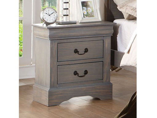 Grey Louise Philippe Nightstand