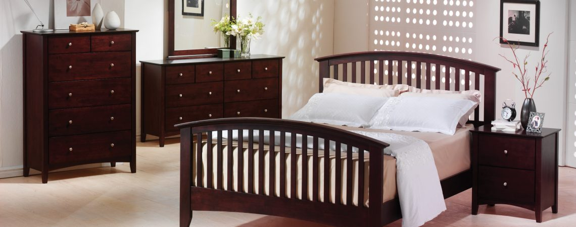 Metro Merlot Bedroom Set