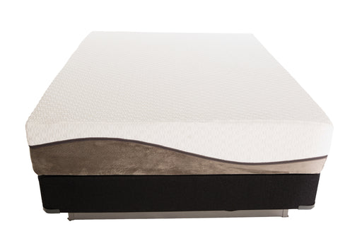 "12"" Oslo Memory Foam Hybrid Mattress (Bed-In-A-Box)"