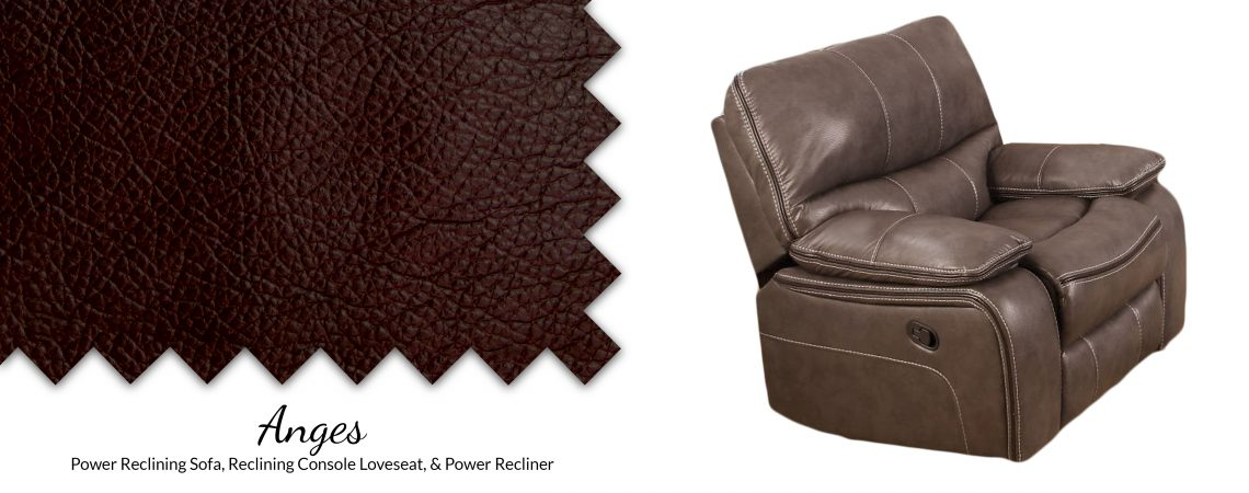 Anges Pad-Over-Chaise Glider Recliner