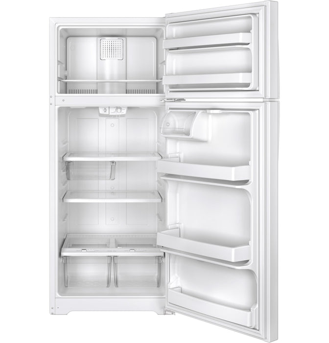 17.5 Cu. Ft. Top Mount Refrigerator XTE18GTH WW/BB