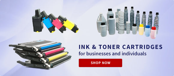 Ink & Toner Cartridges for Business & Individuals