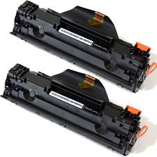 HP Q2612X 2 Pack 3K Compatible Toner Cartridges Q2612A Black 12A
