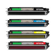HP CF350A CF351A CF352A CF353A Compatible Set for HP 130A