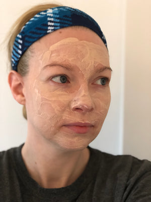Balance clay face mask - Gold Edition