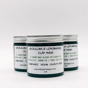 Spirulina Clay Mask