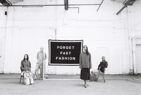 Uskees Forget Fast Fashion Photo Shoot