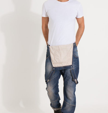 Men's Danny denim bib overalls