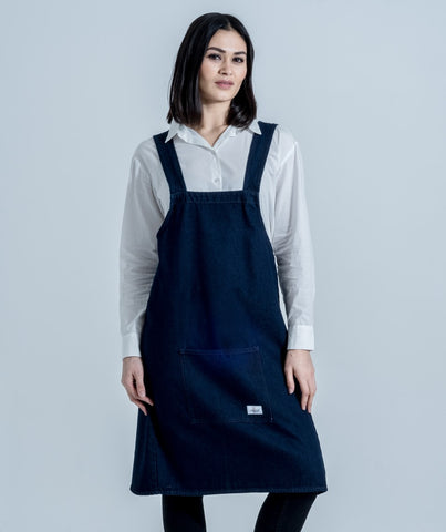 denim apron workwear