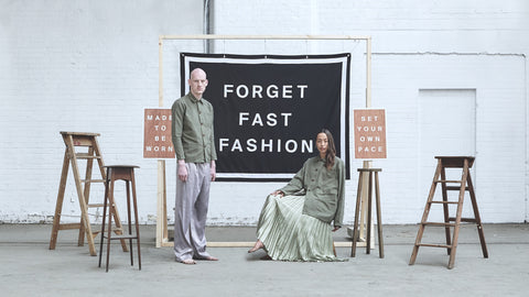 Uskees Forget Fast Fashion