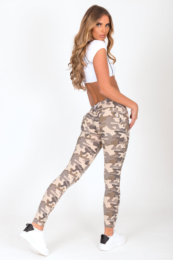Camo Light Low Waist Jegging
