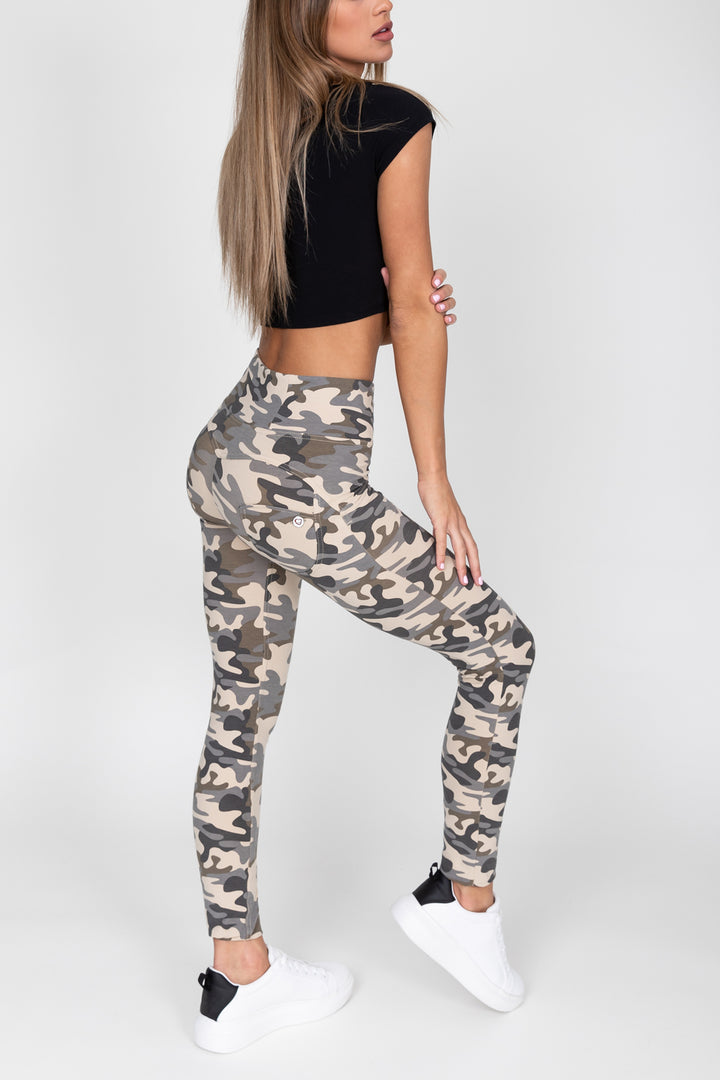 Camo Light High Waist Jegging