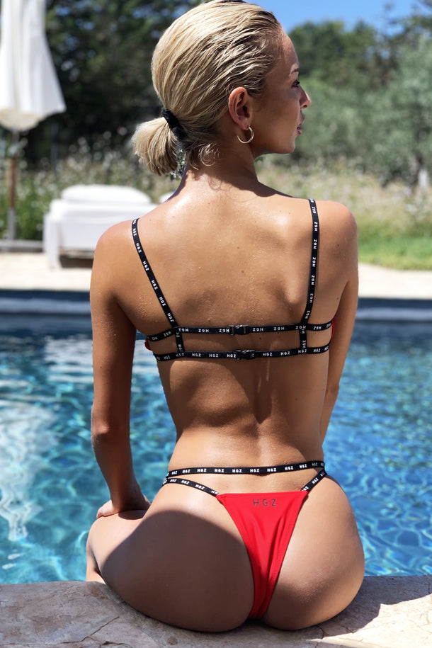 Ibiza Sport Bikini in Red