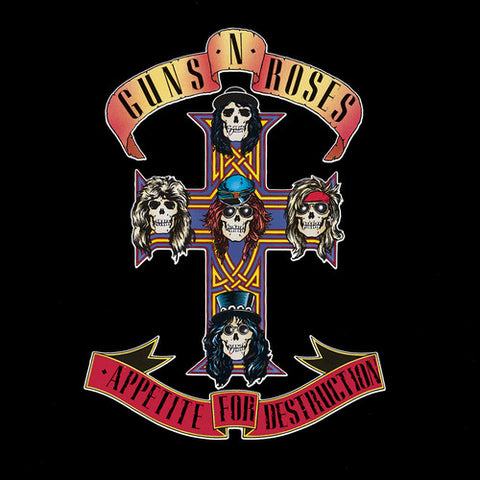 Guns N' Roses-Appetite for Destruction (LP) - Cameron Records