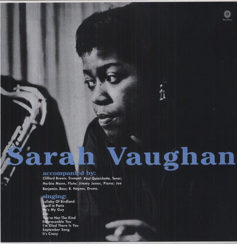 Sarah Vaughan-With Clifford Brown (LP)