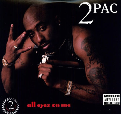 2Pac-All Eyez on Me (4XLP) - Cameron Records