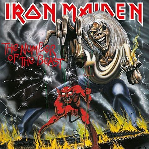 Iron Maiden-Number of the Beast (LP)