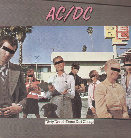 AC/DC-Dirty Deeds Done Dirt Cheap (LP)