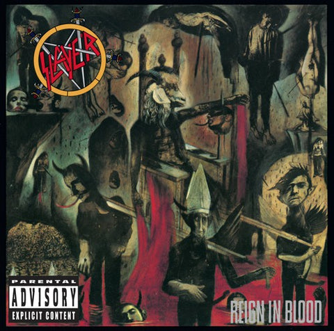 Slayer-Reign in Blood (LP)