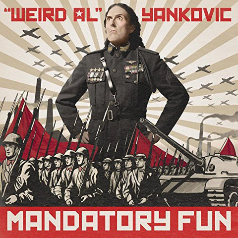 Weird Al Yankovic-Mandatory Fun (LP)