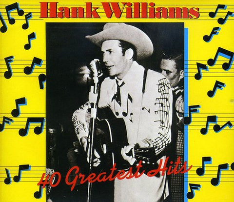 Hank Williams-40 Greatest Hits (CD)