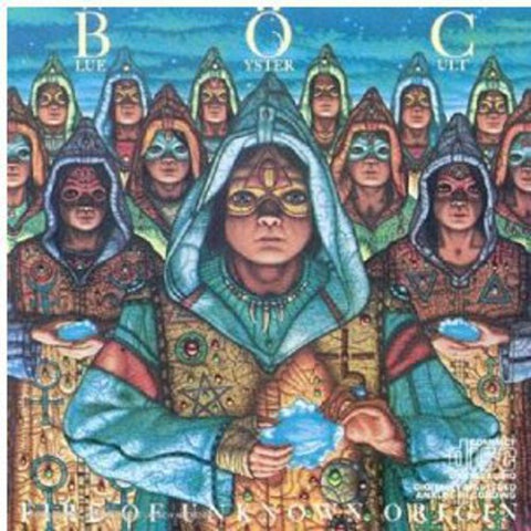Blue Oyster Cult-Fire of Unknown Origin (LP)