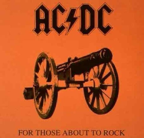 AC/DC-For Those About to Rock We Salute You (LP)