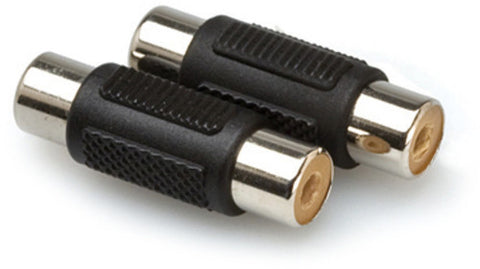 Hosa Couplers RCA to RCA 2 PC
