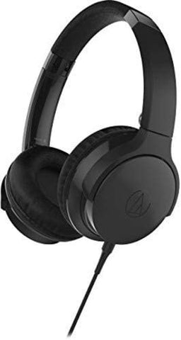 Audio-Technica ATH-AR3iSBK SonicFuel On-Ear Headphones with Mic & Control