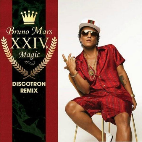 Bruno Mars-24K Magic (LP) - Cameron Records