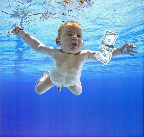 Magnet-Nirvana Nevermind Album Cover