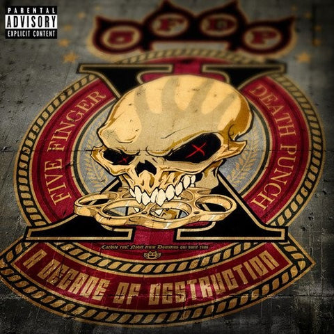 Five Finger Death Punch-A Decade of Destruction (2XLP) - Cameron Records