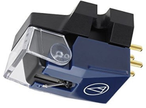 "Audio Technica VM520EB Dual Moving Magnet Phono Cartridge with Elliptical Stylus 1/2"" Mount includes mounting hardware"