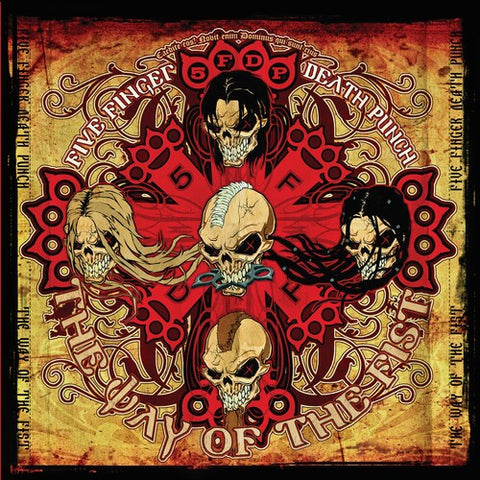 Five Finger Death Punch-The Way of the Fist (LP)