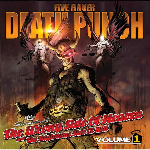 Five Finger Death Punch-Wrong Side of Heaven Vol. 1 (2XLP)