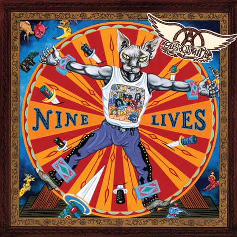 Aerosmith-Nine Lives (2XLP)