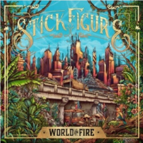 Stick Figure-World On Fire (LP)